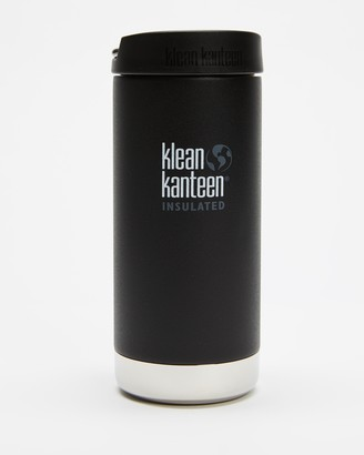 Klean Kanteen Black Water Bottles - TKWide Insulated 12oz with Cafe Cap - Size One Size at The Iconic