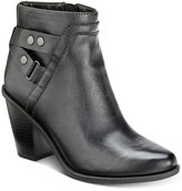 Bar III Dove Block-Heel Booties, Only at Macy's