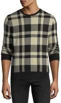 Ralph Lauren Large Buffalo Check Sweater