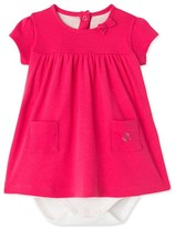 Petit Bateau Baby girls bodysuit dress