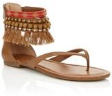 Jessica Simpson Embellished Tassel Sandals