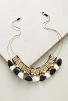 Shiraleah Keira Crescent Tassel Necklace