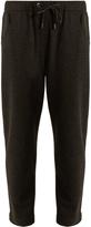 Brunello Cucinelli Embellished-pocket cashmere track pants
