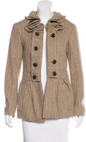 Louis Vuitton Wool-Blend Short Coat