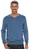 Croft & Barrow Men's True Comfort Classic-Fit V-Neck Sweater