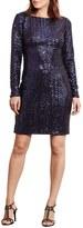 Lauren Ralph Lauren Sequin Bodycon Dress