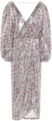 Johanna Ortiz Alfonsina Storni sequin-embellished dress