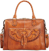 Patricia Nash Burnished Tooled Marliano Satchel