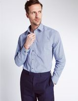 Marks and Spencer 2 Pack Easy to Iron Tailored Fit Shirts
