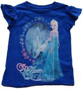 Disney Frozen Elsa Snow Queen Girls Shirt (X-Small)