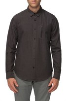 Tavik 'Rivington' Regular Fit Zip Pocket Dobby Woven Shirt