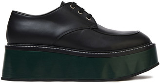 Marni Leather Platform Brogues