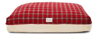 Pottery Barn Harry Barker Plaid Sherpa Dog Bed