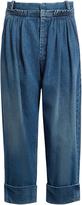 J.W.Anderson Pleat-front wide-leg jeans