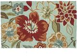 Loloi Summerton Mist Red Floral Rug