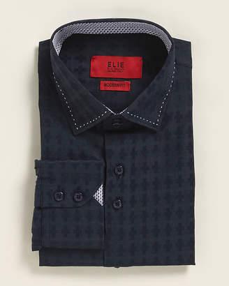 Elie Balleh (Boys 8-20) Modern Fit Checker Dress Shirt