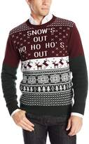 The Ugly Christmas Sweater Kit Men's Snows Out