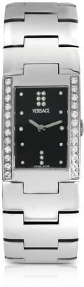 Versace Greca - Ladies Stainless Steel And Diamond Watch