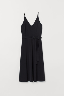 H&M Creped Dress - Black