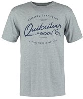 Quiksilver Print Tshirt Athletic Heather