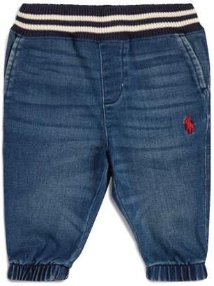 Ralph Lauren Kids Denim Sweatpants