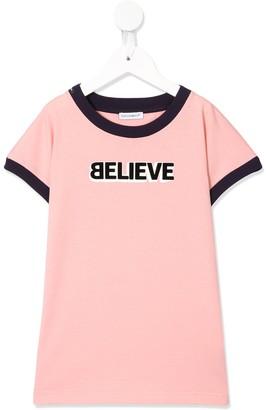 Dolce & Gabbana Believe print T-shirt