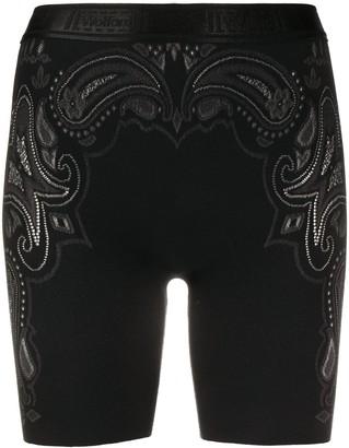 Wolford Om biker shorts