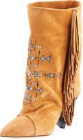 Isabel Marant Lesten Santa Fe Embroidered Boot