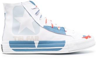 Telfar x Converse hi-top sneakers