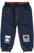 Kenzo Bibille Badge Motif Jeans
