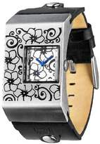 01 The One 01TheOne Unisex AN02M03 Analog Double Screen Silver Rose Fashion Watch