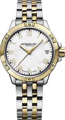 Raymond Weil Women's Tango Quartz Watch with Two-Tone-Stainless-Steel Strap