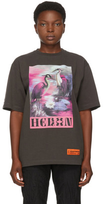 Heron Preston Grey Heron Birds T-Shirt