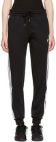 adidas Black 3-stripes Track Pants