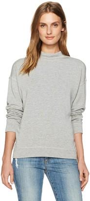 Velvet by Graham & Spencer Women's Fleece Mock Neck Pullover