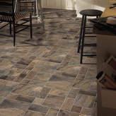 "Armstrong Flooring Stones and Ceramics 15.945"" x 47.756"" x 8mm Tile Laminate Flooring"