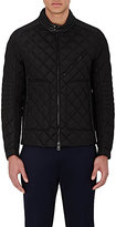 Moncler Men's Diamond-Quilted Down Jacket-BLACK