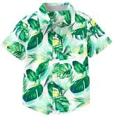 Gymboree Leaf Shirt
