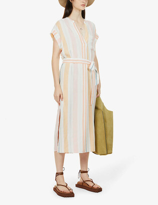 Rails Suri striped woven maxi dress