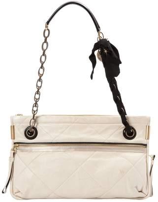 Lanvin Amalia Ecru Leather Handbags