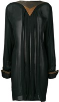 Versace Pre Owned 1980's long sleeve top