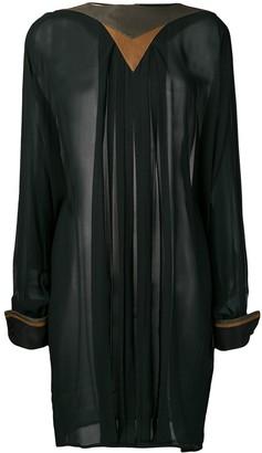 Versace Pre-Owned 1980's Long Sleeve Top