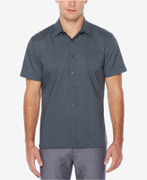 Perry Ellis Men's Big & Tall Geometric Print Shirt