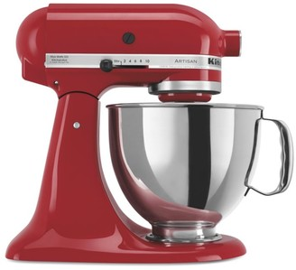 KitchenAid 325-Watt Tilt-Back Stand Mixer with Stainless Steel Bowl and Glass Bowl