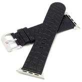 Genuine Matte Alligator Apple Watch Band, 48mm