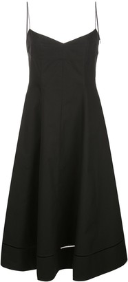 KHAITE Flared Slip Dress