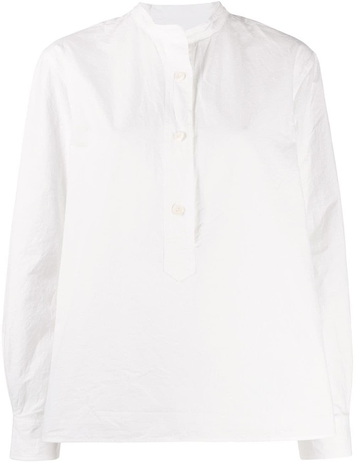 Margaret Howell mandarin collar shirt