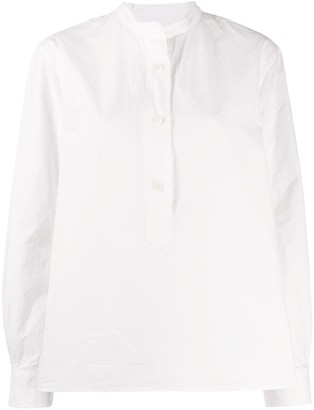 Margaret Howell Mandarin Collar Shirt