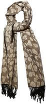 Yumi Leopard Print Winter Scarf