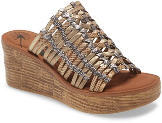OTBT Starlike Wedge Slide Sandal